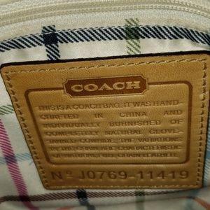 COACH Classic J0769-11419 Tan Butterscotch Yellow